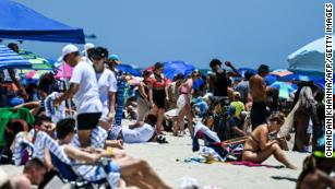 Unvaccinated people are still at risk as the US celebrates Memorial Day weekend maskless