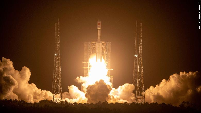 China's cargo spacecraft docks with space station module
