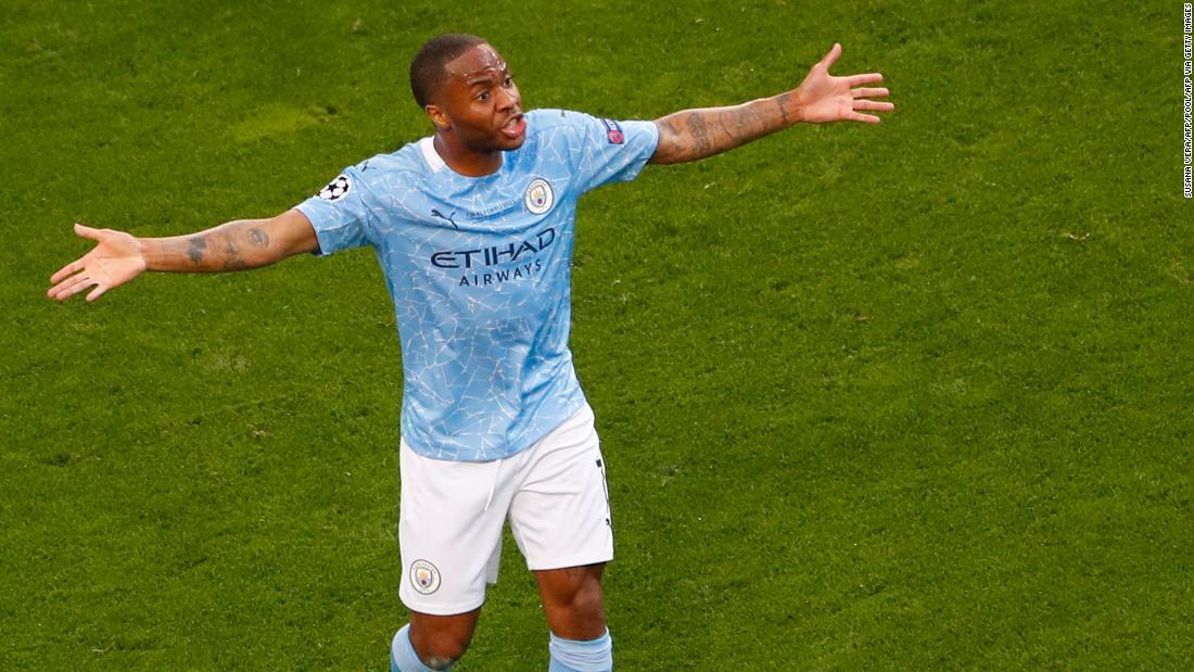Le duo de Manchester City reçoit des abus racistes en ligne après sa défaite en Ligue des champions