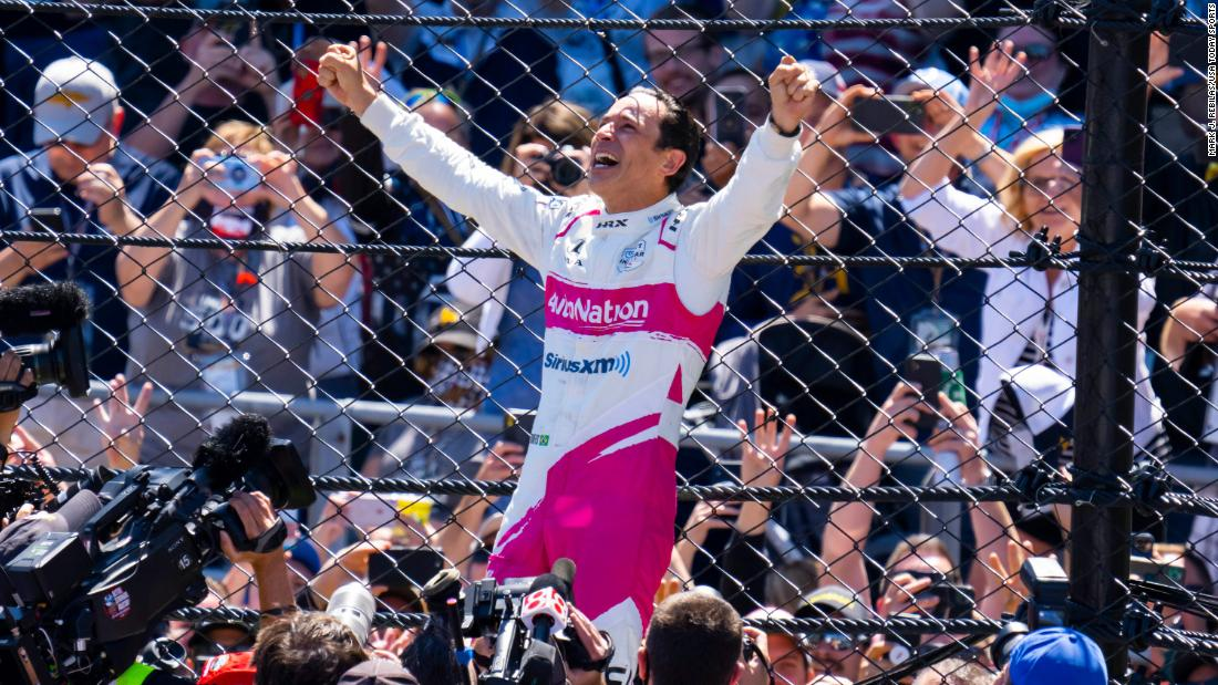 Helio Castroneves wins record-tying fourth career Indianapolis 500 – CNN