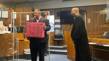 A judge swore in a lawyer who was once a drug dealer in his courtroom 16 years ago