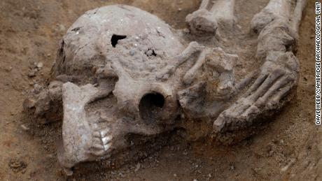 & # 39;  Olağanüstü yüksek & # 39;  Bir Roma mezar höyüğünde bulunan ceset sayısı
