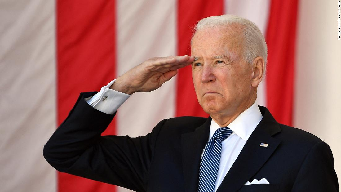 'Democracy itself is in peril:' Biden delivers warning while honoring fallen service members on Memorial Day