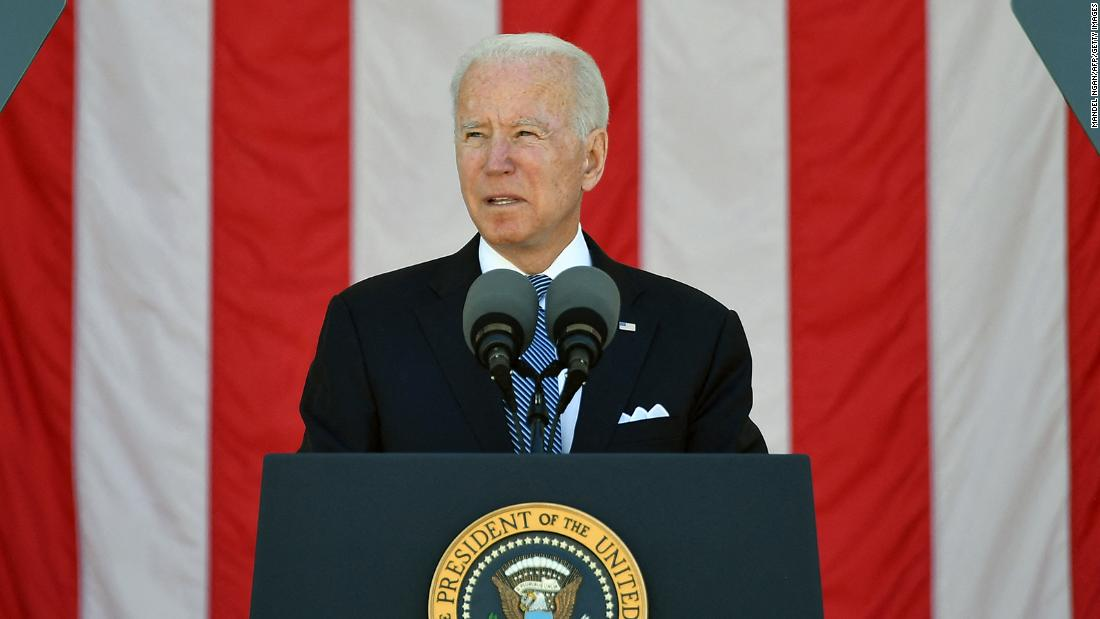 Biden: Fallen troops were fighting for the soul of the nation