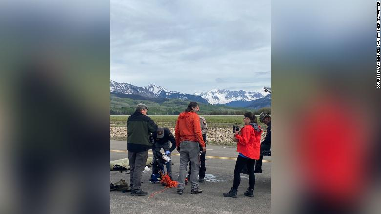 A missing hiker has been found dead after an apparent fall near Telluride, Colorado
