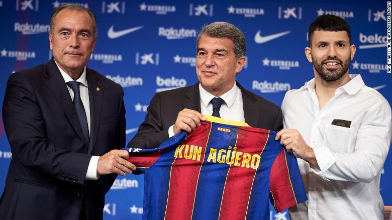 Sergio Aguero to join FC Barcelona as Spanish club begins squad overhaul