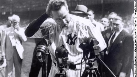 Comment une lettre a lié à jamais Lou Gehrig, le baseball et cette maladie mortelle