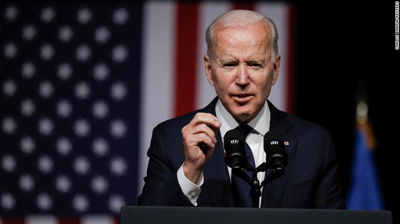 Biden's pre-flight bipartisanship push