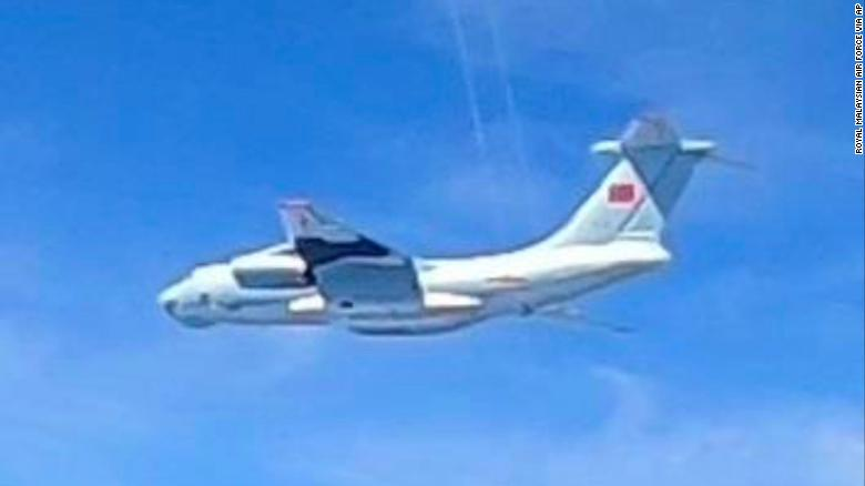 Malaysia scrambles fighter jets after 16 Chinese military aircraft fly toward Borneo