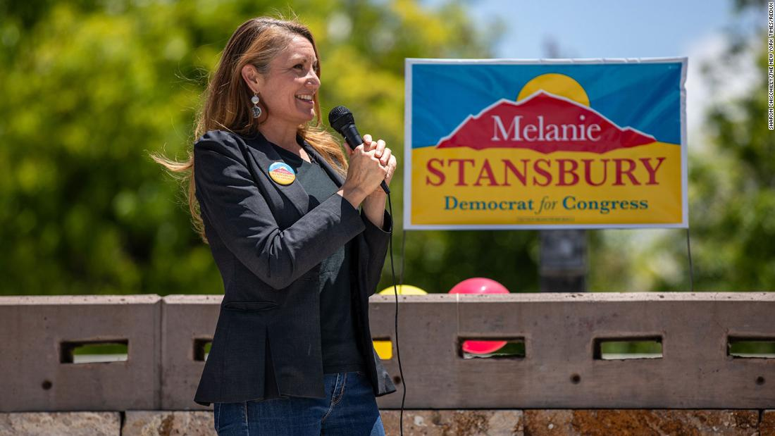 Democrat Melanie Stansbury will win New Mexico special election CNN projects – CNN