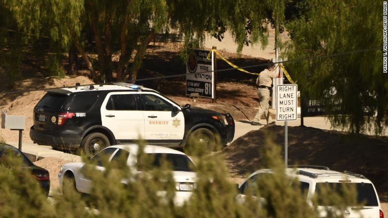 A California firefighter is dead and another injured after police say a co-worker opened fire. It's the second workplace shooting within a week