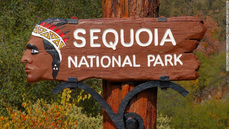 A hiker died after falling 500 feet from a mountain summit in California's Sequoia National Park