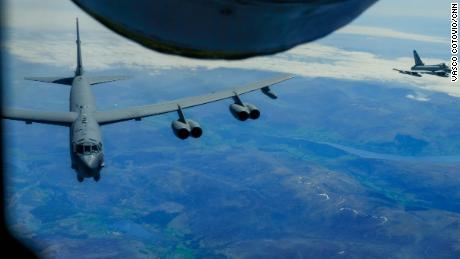 US and allies send message to Russia with NATO state flyover