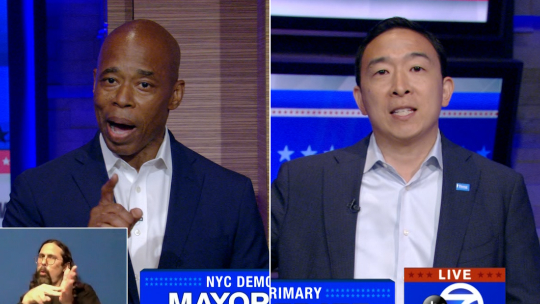 Image for Five takeaways from a fiery New York City Democratic mayoral debate