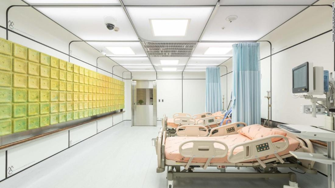 A hospital ward made from trash highlights Arthur Huang's mission to revolutionize recycling