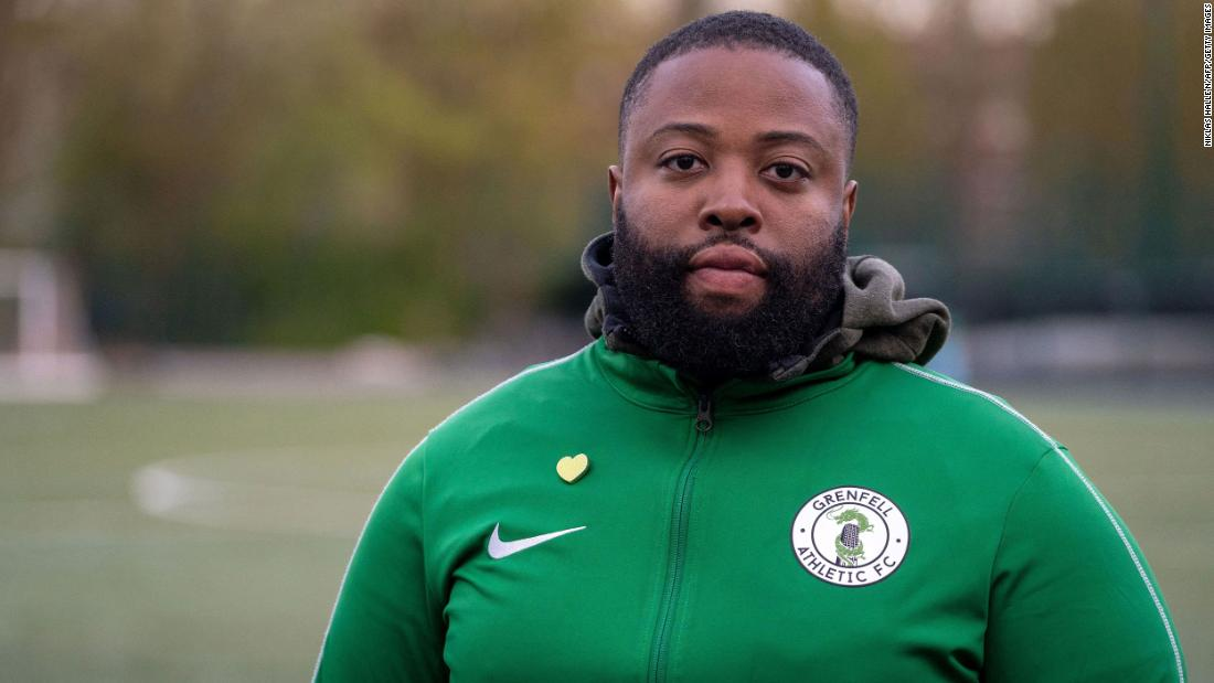 'Football is the best cure for anything:' The club providing solace four years after the Grenfell Tower fire