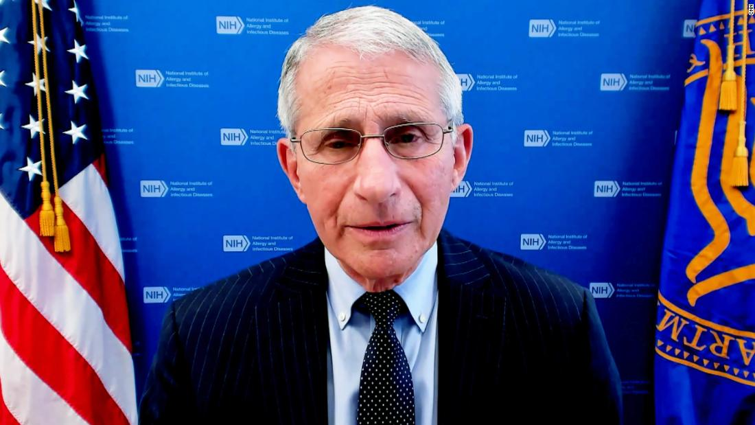 Dr. Anthony Fauci says publicly released email about lab leak is being misconstrued – CNN