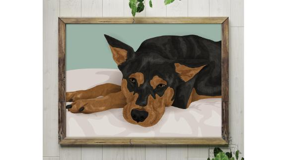 OnTheEdgeCreations Custom Pet Portrait