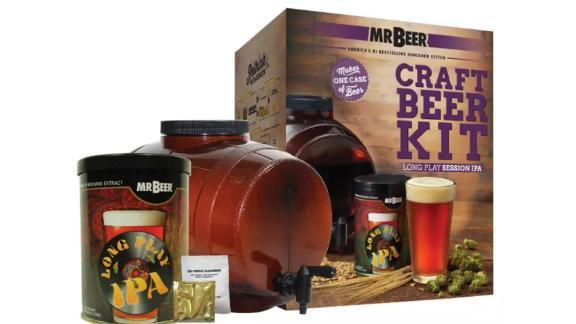 Mr. Beer Long Play IPA Craft Beer-Making Kit