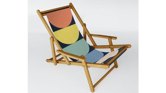 Flower palettes sling chairs