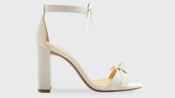 Alexandre Birman Clarita 90mm Leather Ankle-Tie Sandals