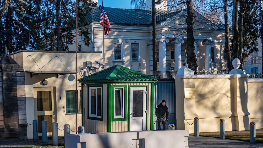 Belarus lashes out at the US reducing embassy staff numbers – CNN