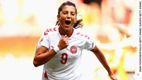Nadia Nadim has represented the Denmark national team since 2009.