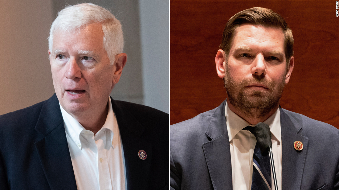 Rep. Mo Brooks says he isn't hiding from an insurrection lawsuit after Rep. Eric Swalwell hired a private investigator to find him