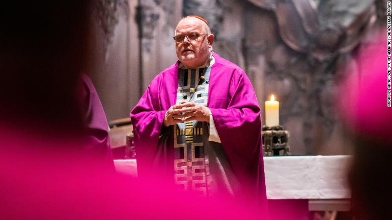 Head of Germany's Catholic Church offers resignation over 'catastrophe of sexual abuse'
