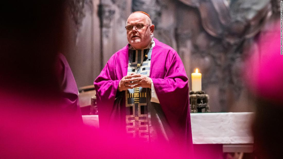 Top German Catholic Church official offers resignation over 'catastrophe of sexual abuse