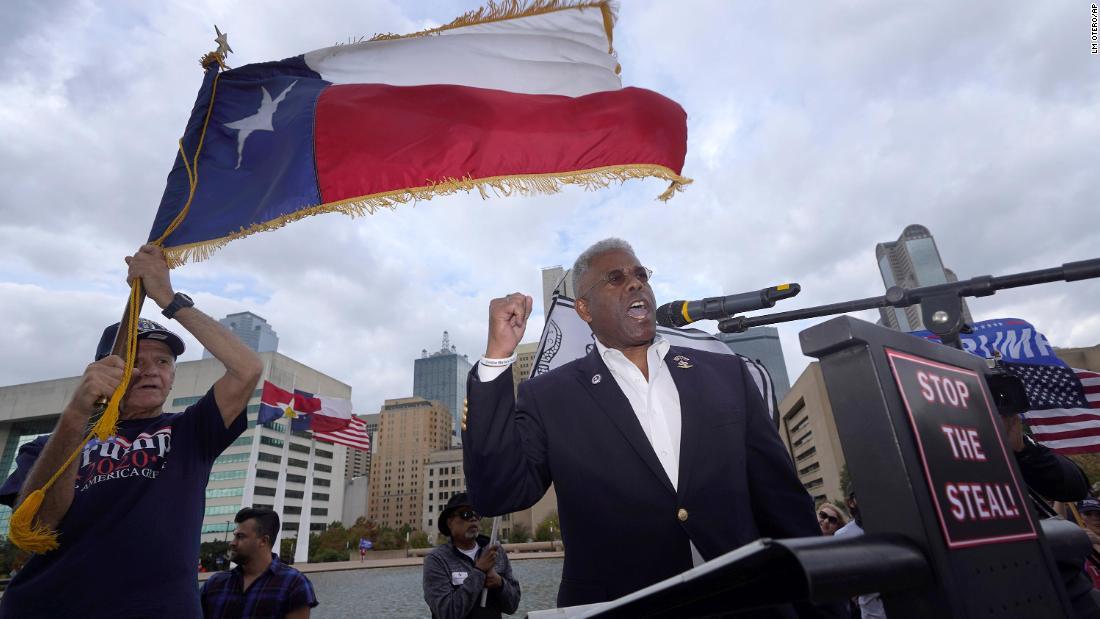 Texas GOP chair Allen West resigns – CNN