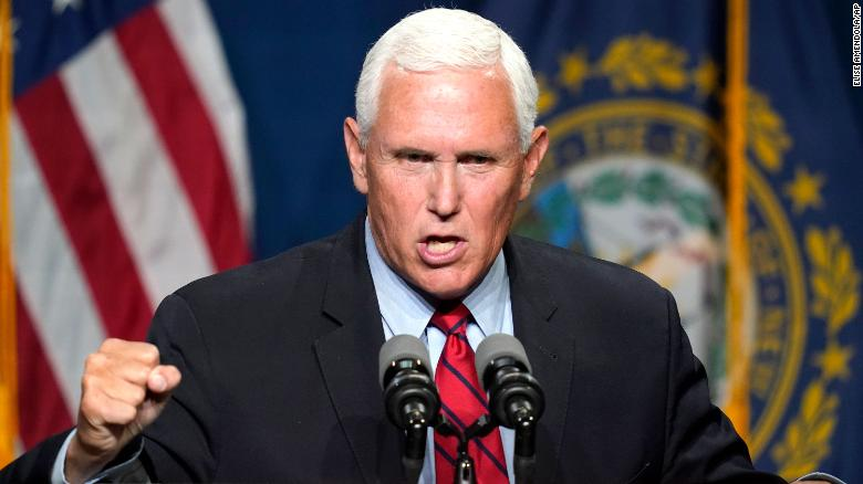 Pence eyes his political future as he tries to make peace with Trump