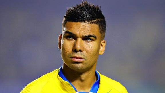 Casemiro of Brazil looks on before the Copa America Brazil 2019 group A match between Brazil and Bolivia at Morumbi Stadium on June 14, 2019 in Sao Paulo, Brazil.