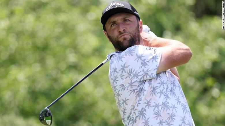 Golfer Jon Rahm forced to withdraw from Memorial Tournament after positive Covid-19 test