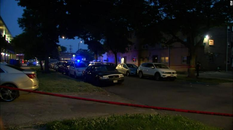 Five people killed and 40 injured after weekend shootings in Chicago