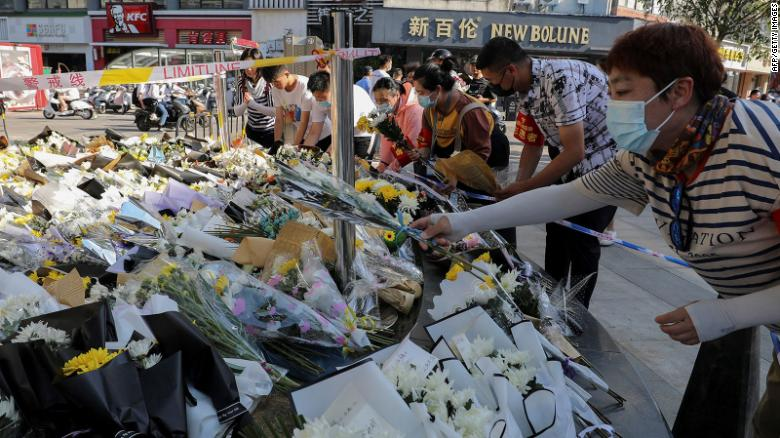 Police in China apprehend suspect in knife attack that killed 6 and injured 14
