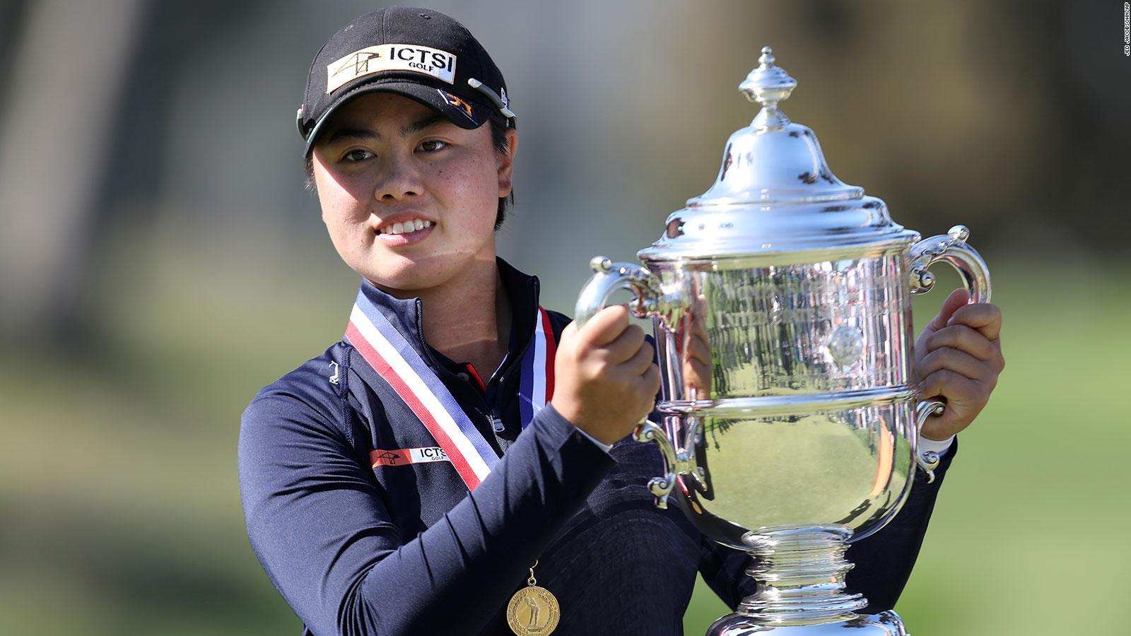 Yuka Saso Wins 2021 Us Women S Open Becomes First Filipino Player To Win A Golf Major Tournament Cnn