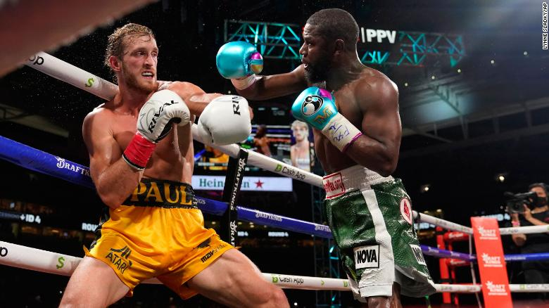 Floyd Mayweather and Logan Paul box for 8 rounds in exhibition pay-per-view fight