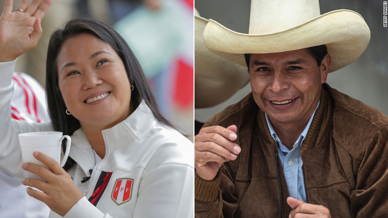Peru's presidential election is just too close to call