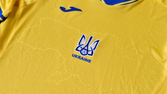 Ukraine's Euro 2020 kit features a map of the country that includes Russian-annexed Crimea.