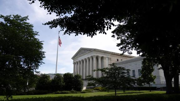 A general view of the U.S. Supreme Court on June 1, 2021 in Washington, DC.