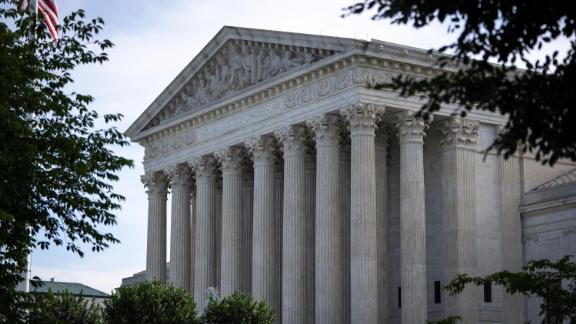 A general view of the U.S. Supreme Court on June 1, 2021 in Washington, DC. T