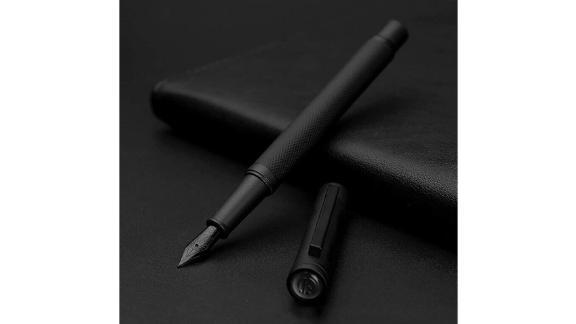 Asvine Matte Black Forest Fountain Pen