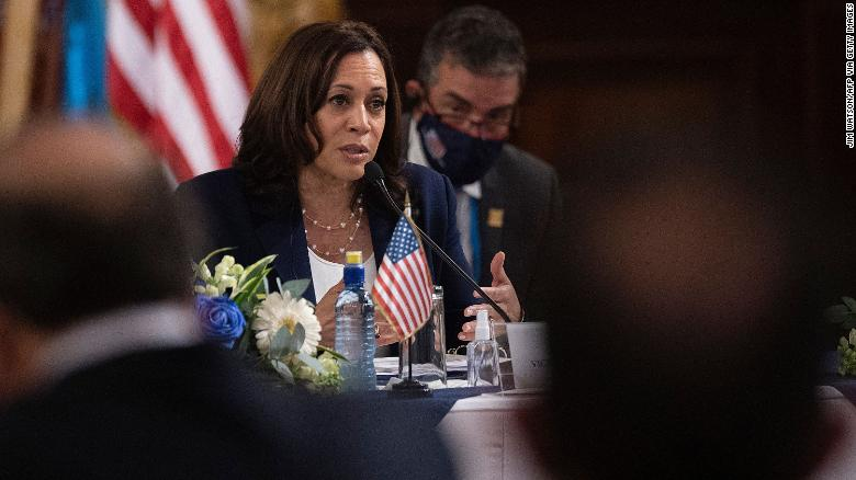 Harris rejects criticism over lack of border visit: 'And I haven't been to Europe'