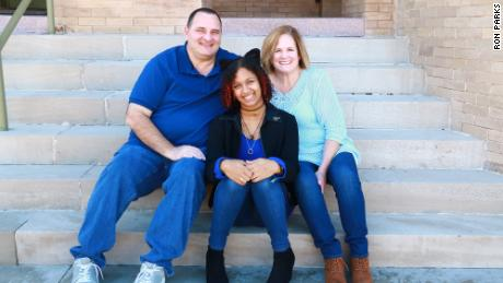 Mike and Leah Benton, (pictured above with their daughter Hailey) sold their home outside of Austin quickly at a profit, but then struggled to find a new home to buy.