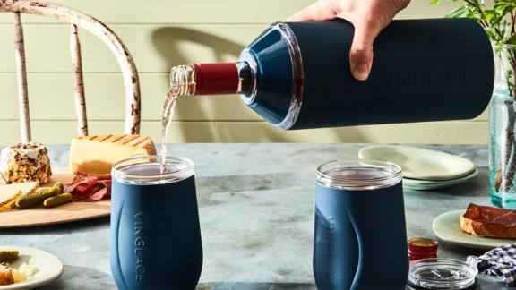 Vinglacé wine bottle cooler