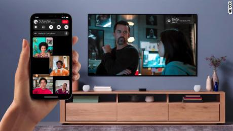 Apple unveiled updates to FaceTime as part of iOS 15.