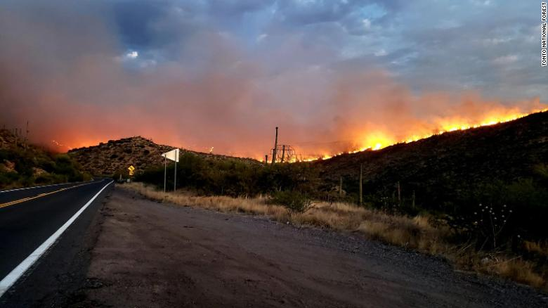 More than 100,000 acres have burned in Arizona wildfires