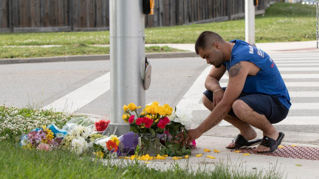 A driver slams into a family, killing four people, in what Canadian police say was an anti-Islamic hate crime – CNN