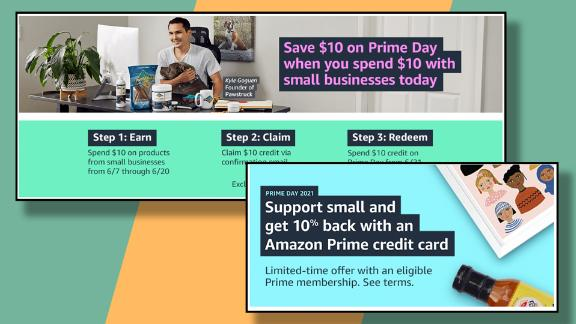 Get discounts on select small business brands even before Prime Day with the Amazon Prime Rewards Card.